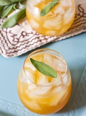 Apricot bourbon