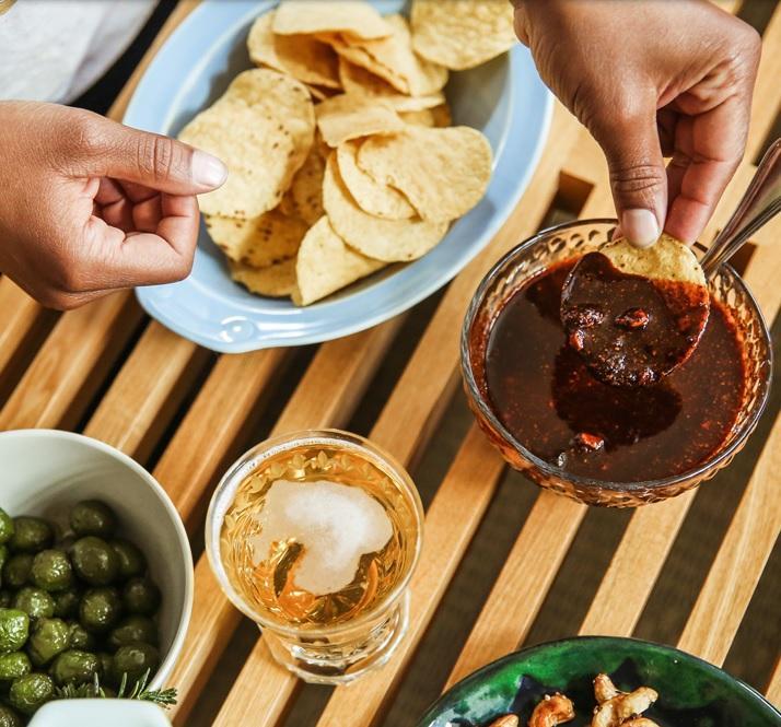 Salsa od suhog čileanskog kikirikija