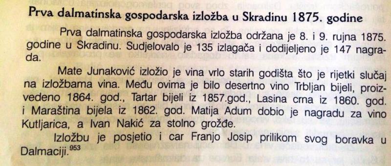 Festival finih vina Skradin 2015.: Svi ste pozvani! (Foto: PR) (Foto: )