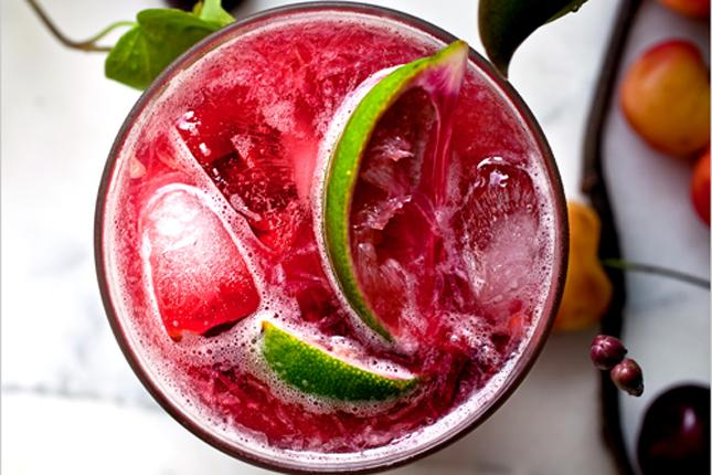 SUMMER DRINKS, Cherry Caprissima, mixed and styled by Andrew Scrivani NYTCREDIT: Andrew Scrivani for The New York Times                              NYTCREDIT: