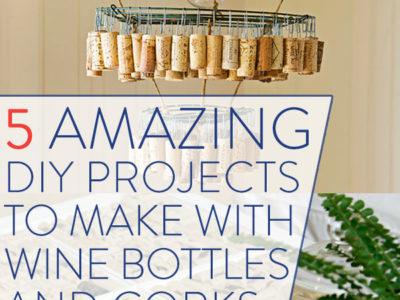 """5 prekrasnih """"uradi sam"""" stvari od vinskih boca i čepova"""