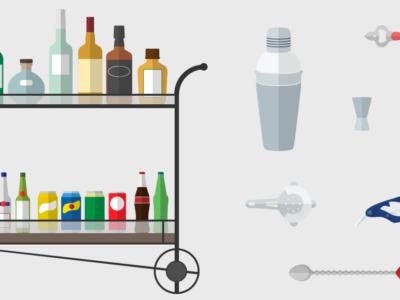 Kako opremiti savršeni kućni bar