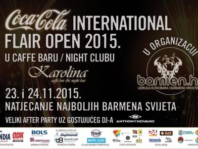 Međunarodno natjecanje barmena Coca-Cola International Flair Open 2015.