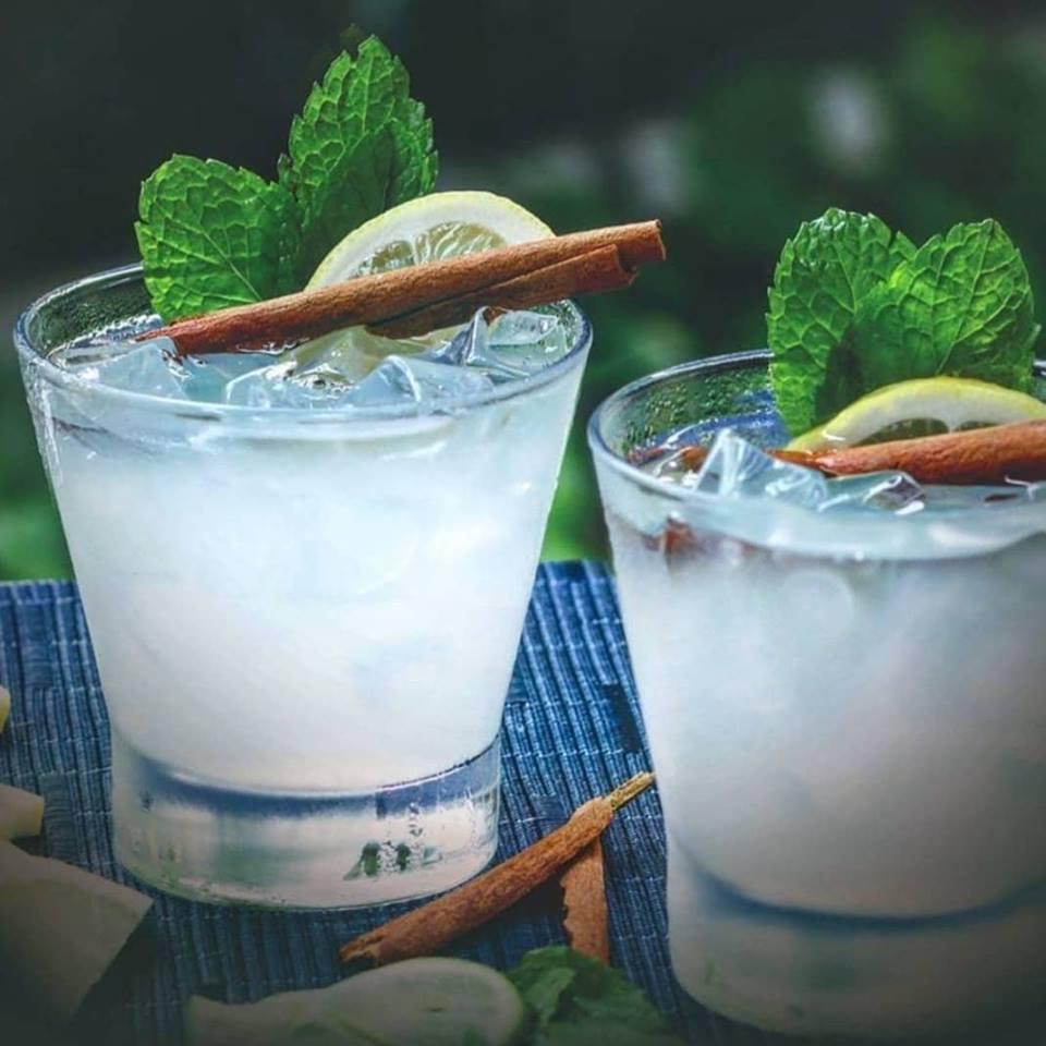 Mint gin