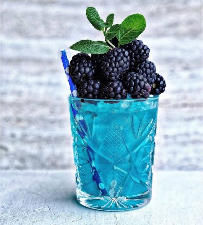 A berry blue margarita 💙