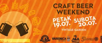 Craft Beer Weekend