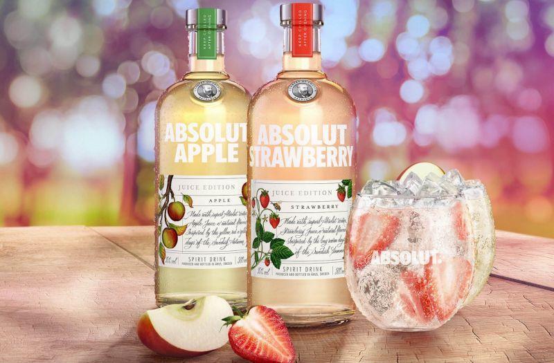 Absolut vodka lansirala piće sa pravim sokom od jabuka i jagoda