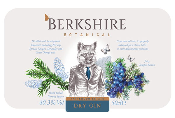 Berkshire dry gin sa okusom borovih iglica