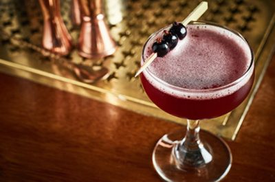 Blackcurrant daiquiri